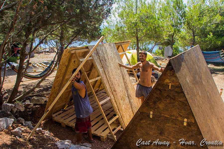 Cast Away 2016 - Help in summer building bungalows 4aweb