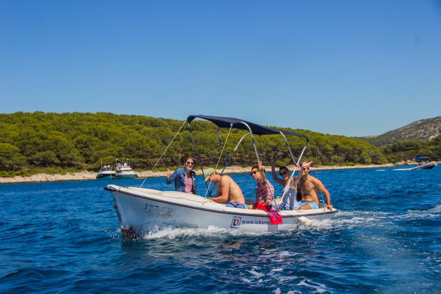 Boat Trip Hvar Croatia