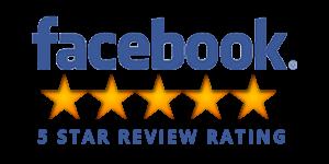 Logo Facebook 5 star rating